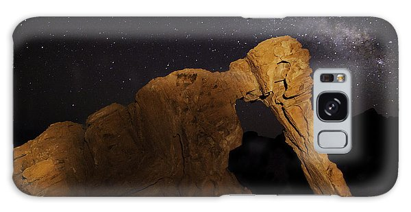 Galaxy Case featuring the photograph Milky Way Over The Elephant 3 by James Sage