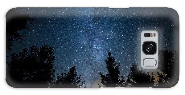 Milky Way Over The Forest Galaxy Case by Teemu Tretjakov