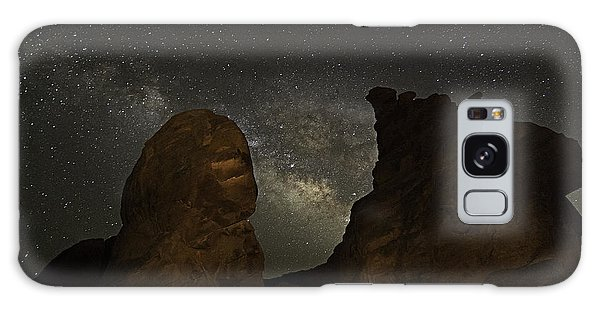Galaxy Case featuring the photograph Milky Way Over The Seven Sisters 3 by James Sage