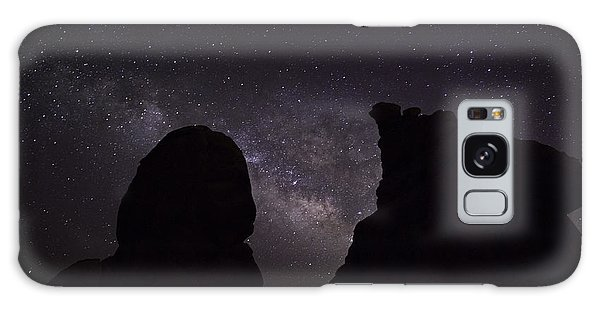 Galaxy Case featuring the photograph Milky Way Over The Seven Sisters 5  by James Sage