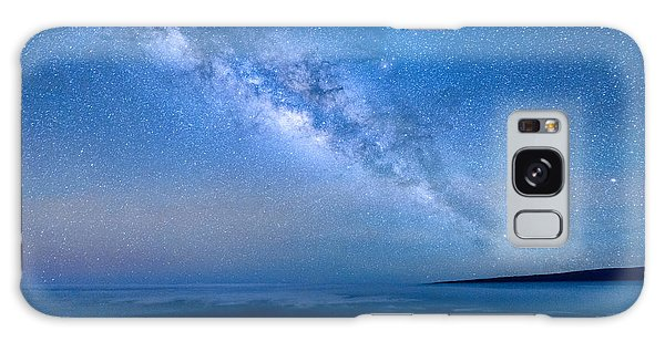 Milky Way Suspended Above Mauna Loa 1 Galaxy Case