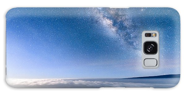 Milky Way Suspended Above Mauna Loa 2 Galaxy Case