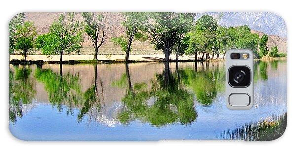 Mill Pond Galaxy Case by Marilyn Diaz