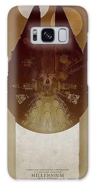 Millennium Falcon Galaxy Case