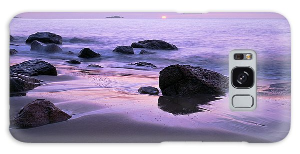 Millennium Sunrise Singing Beach Galaxy Case