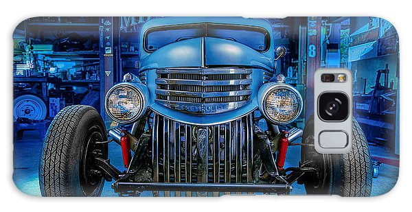 Millers Chop Shop 1946 Chevy Truck Galaxy Case by Yo Pedro