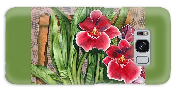 Miltonia Orchids Galaxy Case