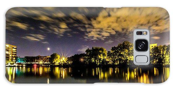 Milwaukee Riverwalk Galaxy Case by Randy Scherkenbach