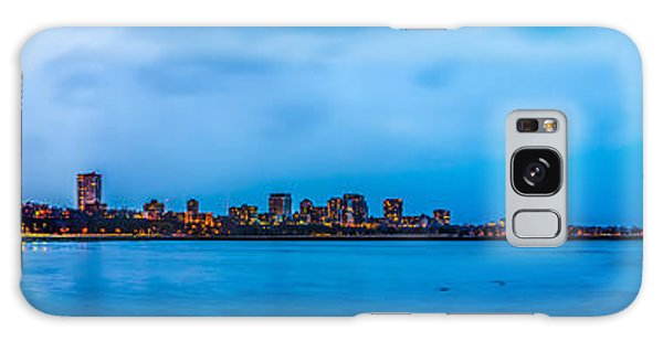 Galaxy Case featuring the photograph Milwaukee Skyline - Version 2 by Steven Santamour