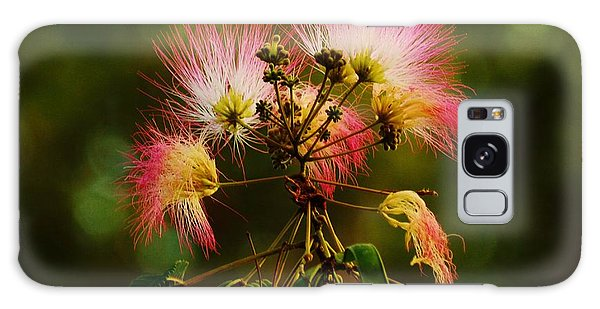 Mimosa Blooms Galaxy Case by William Bartholomew