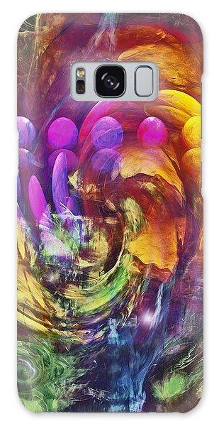 Imagery Galaxy Case - Mindscape by Linda Sannuti