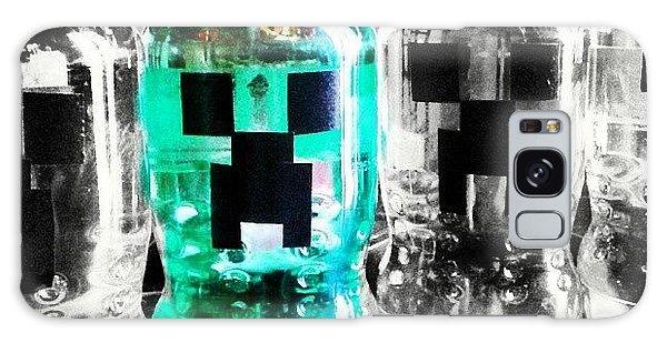 Nerd Galaxy Case - #minecraft, #creeper , #creeperhead by Melissa Hardecker