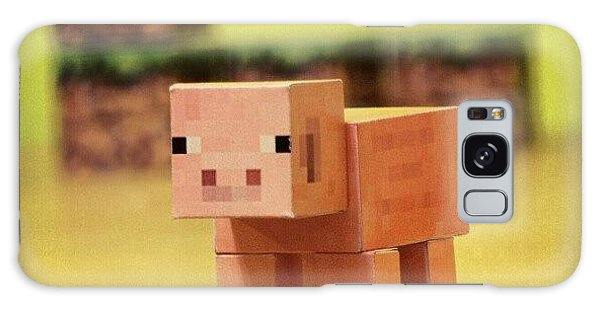Nerd Galaxy Case - #minecraft #pig #piggy #paper #papercut by Mato Mato