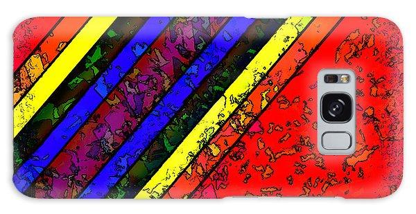 Mingling Stripes Galaxy Case