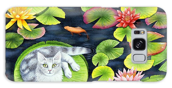 Sea Lily Galaxy Case - Mingos Pad by MGL Meiklejohn Graphics Licensing