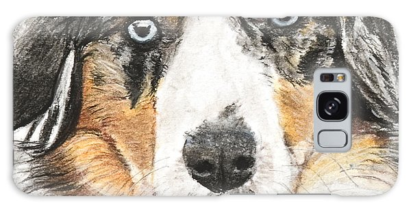 Miniature Australian Shepherd Galaxy Case