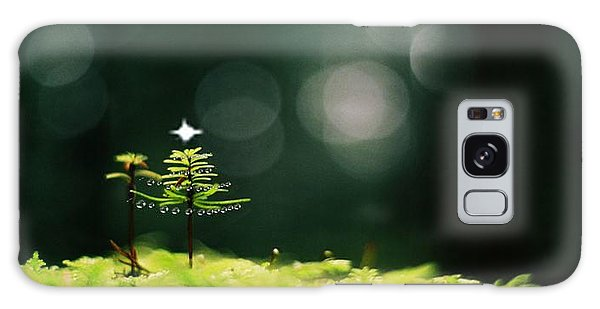 Miniature Christmas Tree Galaxy Case by Cathie Douglas