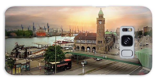 Miniature Hamburg Galaxy Case by Daniel Heine