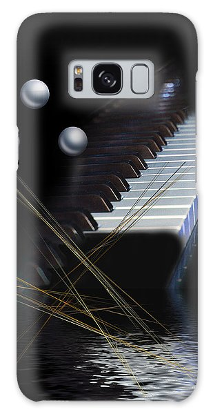 Minimalism Piano Galaxy Case by Angel Jesus De la Fuente