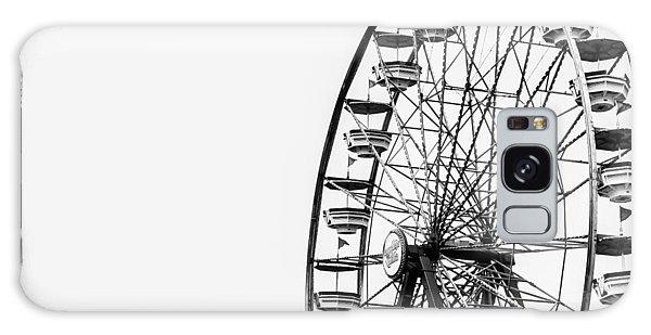 County Fair Galaxy Case - Minimalist Ferris Wheel by Jon Woodhams