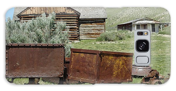Mining Rail Cars Bannack Montana Galaxy Case