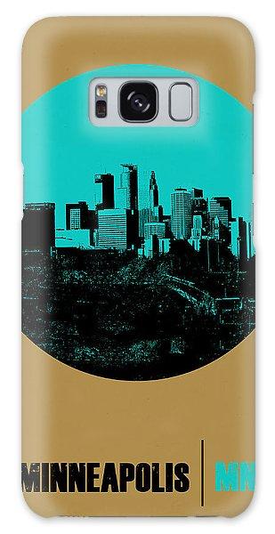 Downtown Galaxy Case - Minneapolis Circle Poster 1 by Naxart Studio