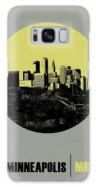 Downtown Galaxy Case - Minneapolis Circle Poster 2 by Naxart Studio