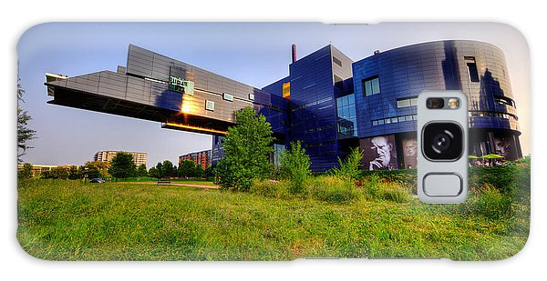 Minneapolis Guthrie Theater Summer Evening Galaxy Case