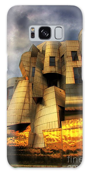 Minneapolis Skyline Photography Weisman Museum Galaxy Case by Wayne Moran