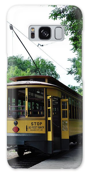 Galaxy Case featuring the photograph Minnesota Streetcar Museum by Kyle Hanson