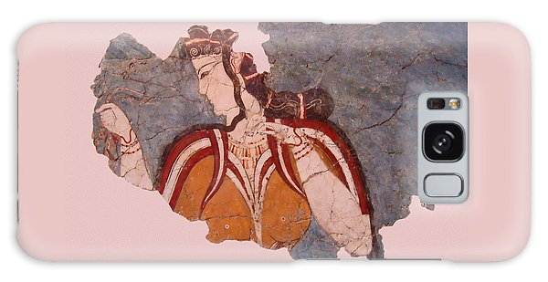Minoan Wall Painting Galaxy Case