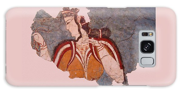Minoan Wall Painting Galaxy Case