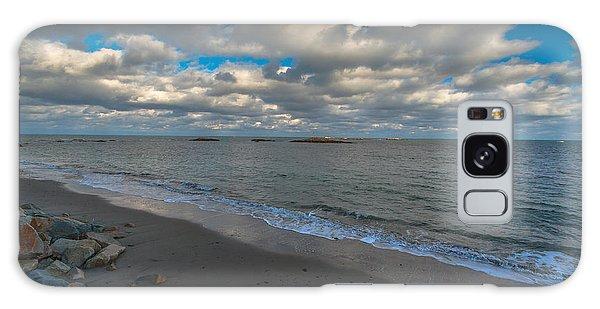 Minot Beach Galaxy Case