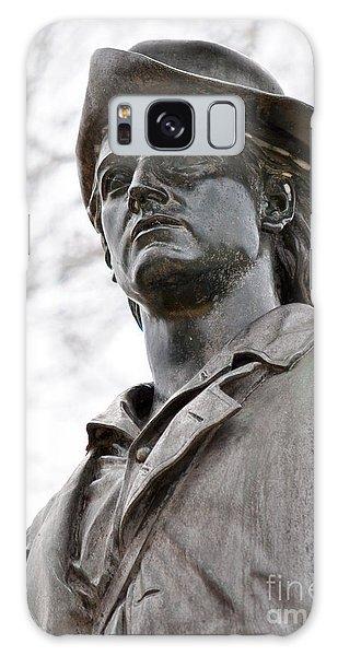 Minute Man Statue 3 Galaxy Case