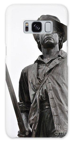 Minute Man Statue Concord Massachusetts Galaxy Case