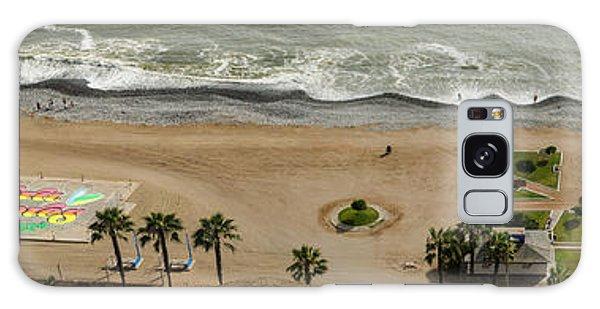 Miraflores Beach Panorama Galaxy Case