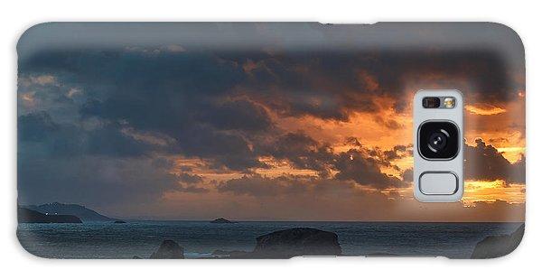 Mirandas Islands Galicia Spain Galaxy Case
