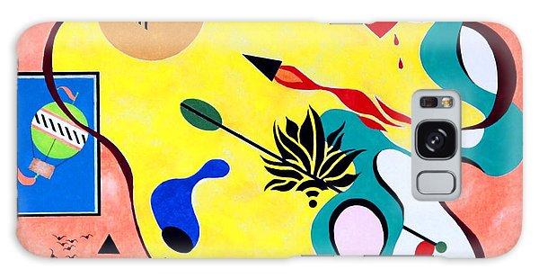 Miro Miro On The Wall Galaxy Case by Thomas Gronowski