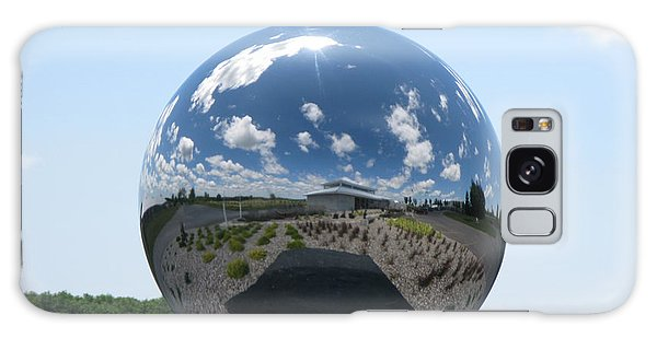 Galaxy Case featuring the photograph Mirror Ball by David Barker