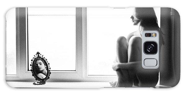 Window Galaxy Case - Mirror by Borislav Kornienko