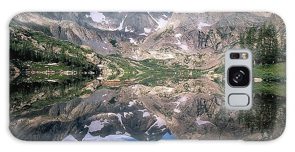 Indian Peaks Wilderness Galaxy Case - Mirror Image by Eric Glaser