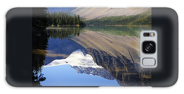 Mirror Lake Banff National Park Canada Galaxy Case