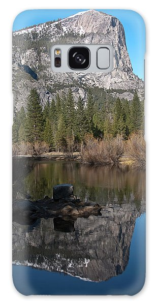 Mirror Lake Yosemite Galaxy Case by Shane Kelly