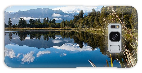 Mirror Landscapes Galaxy Case