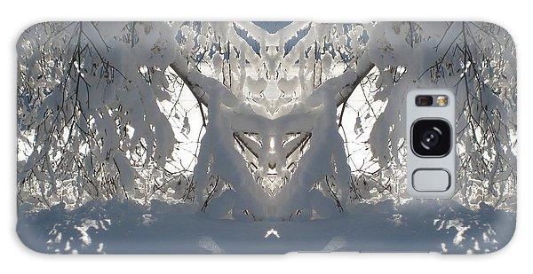 Mirror Of Snow  Galaxy Case
