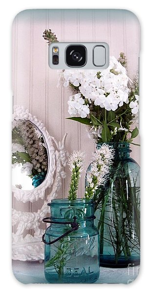 Mirrored Bouquet 1 Galaxy Case