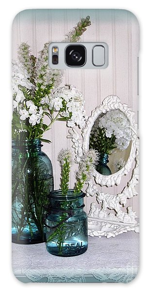 Mirrored Bouquet 2 Galaxy Case