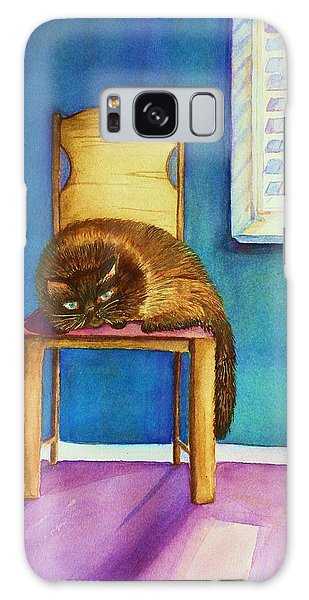 Kitty's Nap Galaxy Case