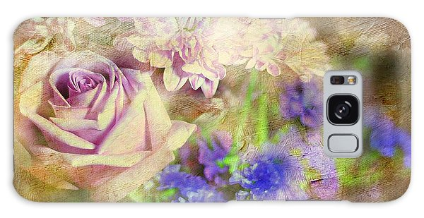 Vase Of Flowers Galaxy Case - Missing You Now by Diana Angstadt