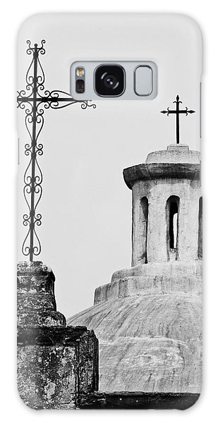 Mission Concepcion Crosses Galaxy Case by Andy Crawford